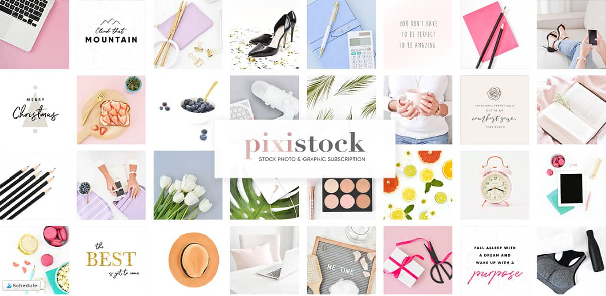 Styled Stock Photo - Social Squares