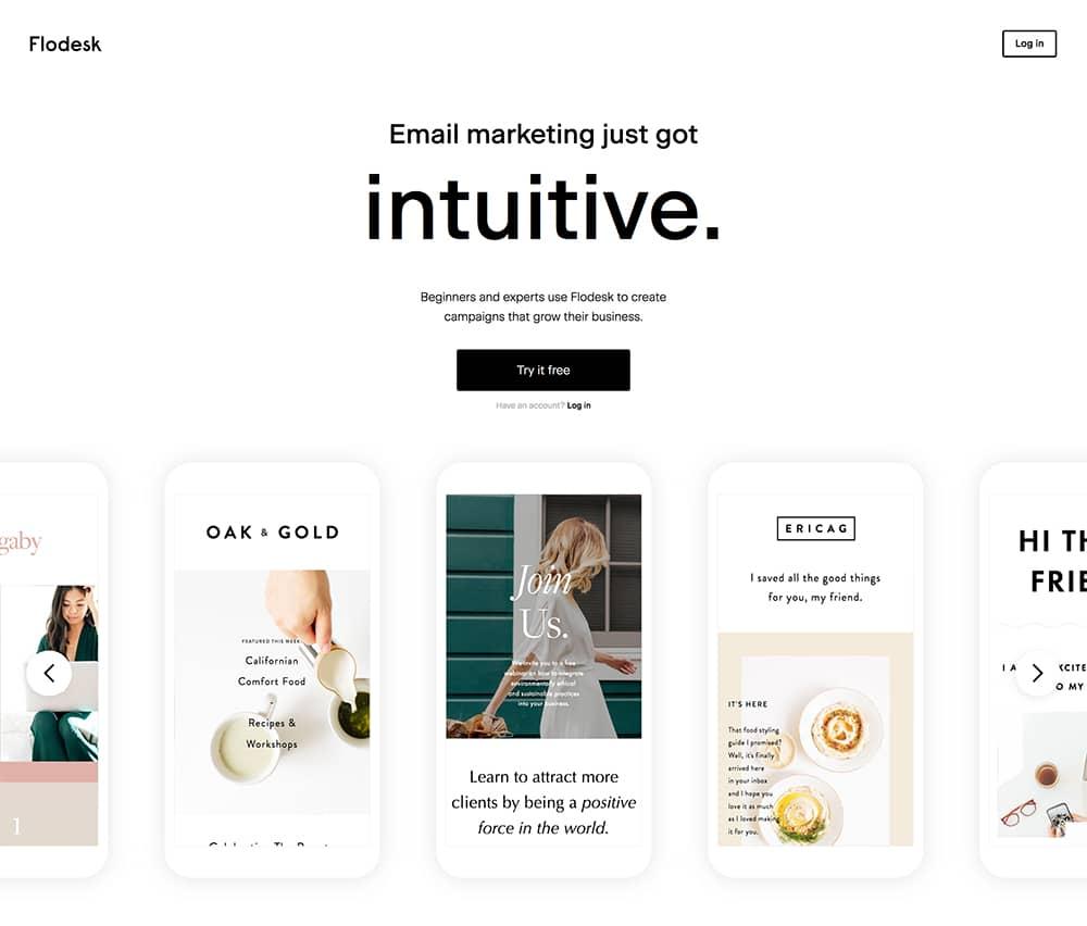 MailChimp Alternatives: FloDesk