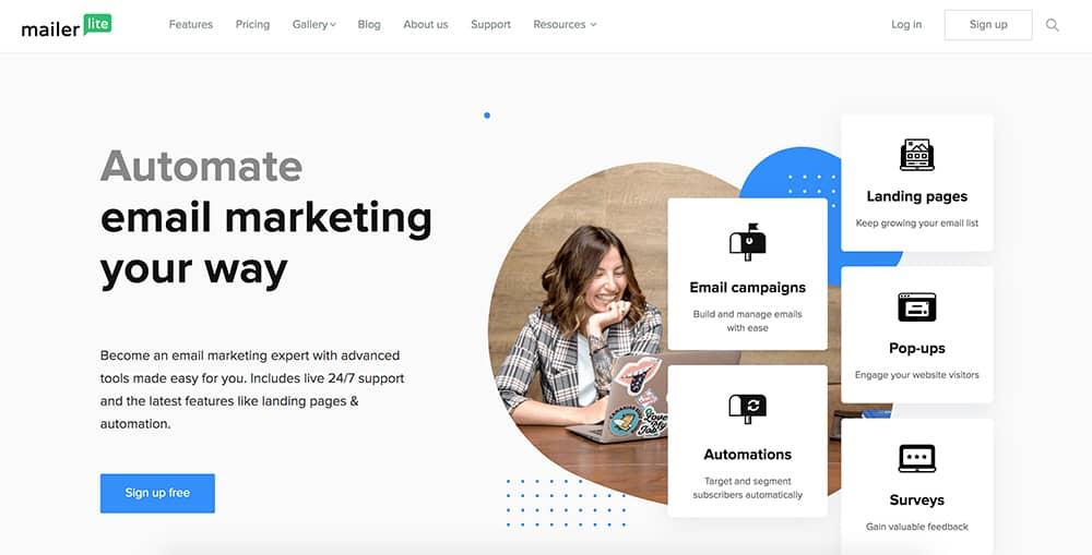 MailChimp Alternatives: MailerLite