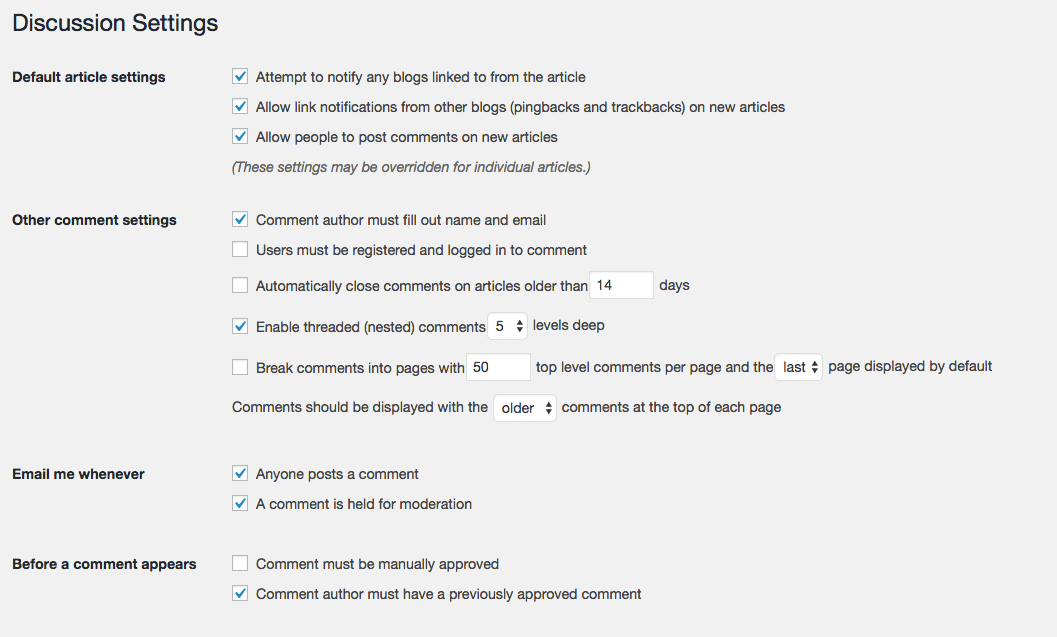 wordpress-discussion-settings