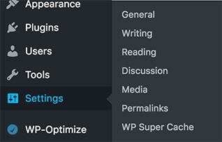 wp-settings