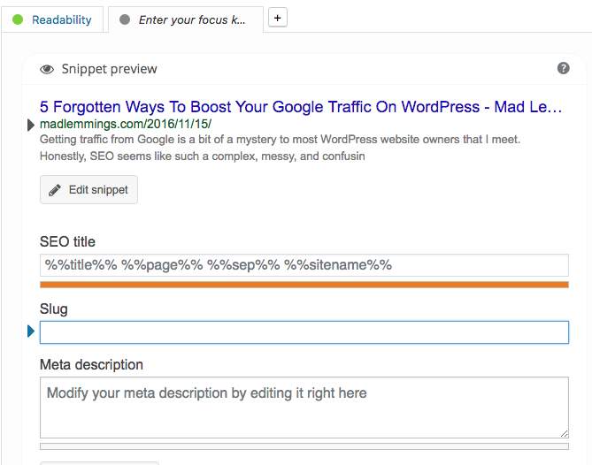 Improve Your Search Engine Results with Yoast SEO plugin