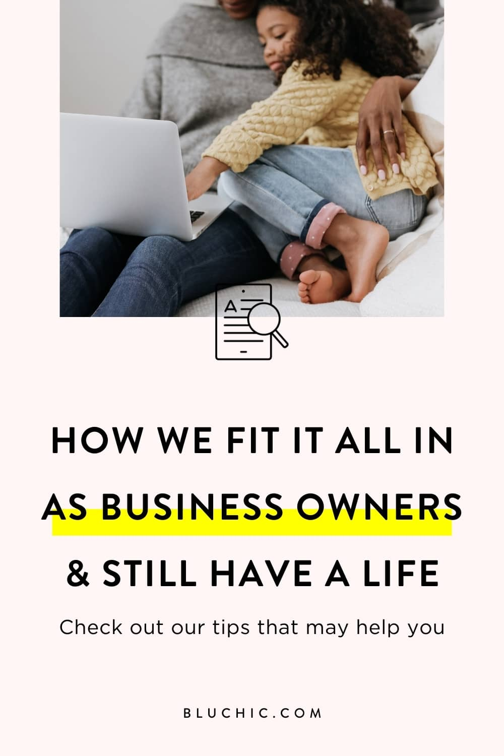 How We Fit It All In As Business Owners & Still Have A Life | How do we fit it all in as business owners and as parents? Get our tips for productivity & time management that may help you as you grow your own business.