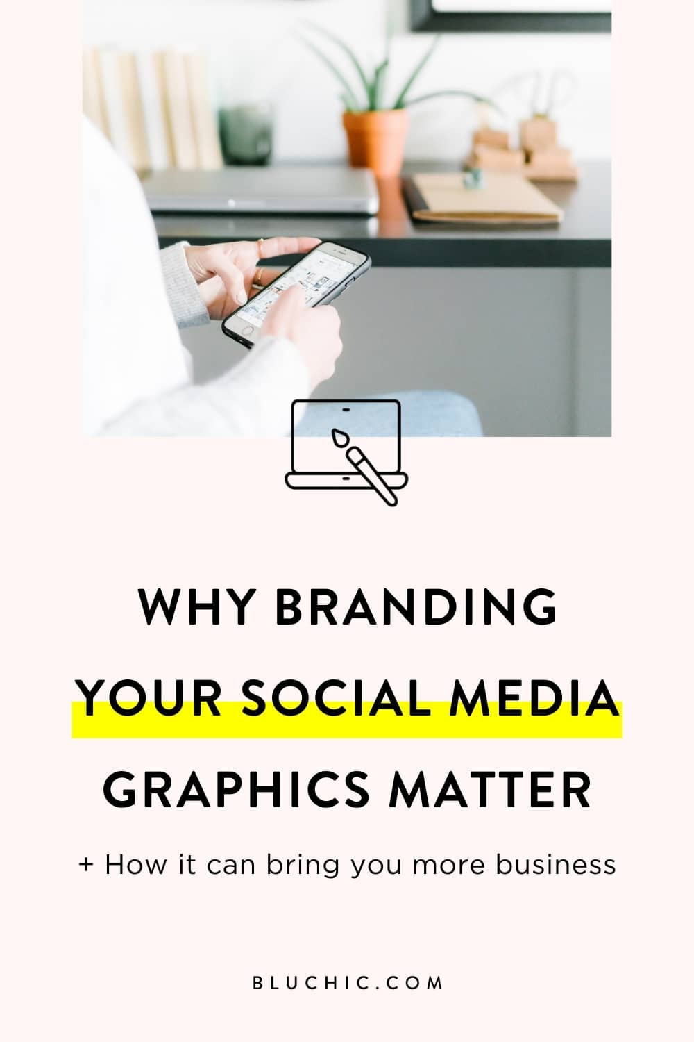 Learn why branding your #socialmedia graphics matters & how it can bring you even more business!