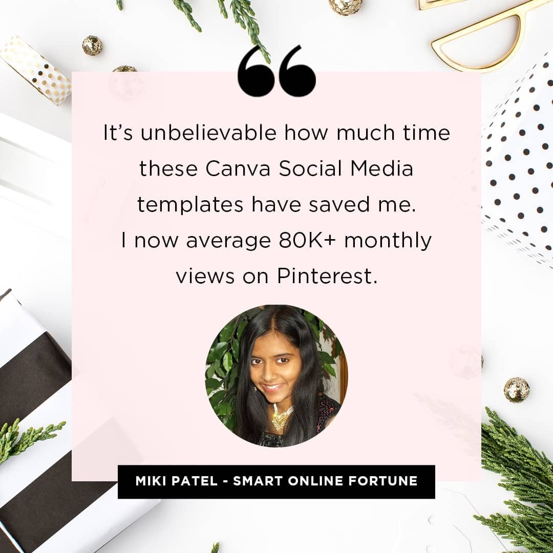 it's unbelievable how much time these canva social media templates have saved me