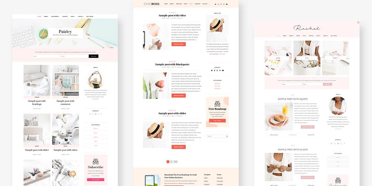 website blog design inspiration