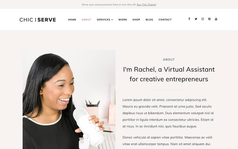 ChicServe about page