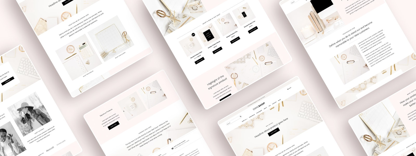 Elementor Website Template | ChicShop WooCommerce WordPress Theme for Online Shop