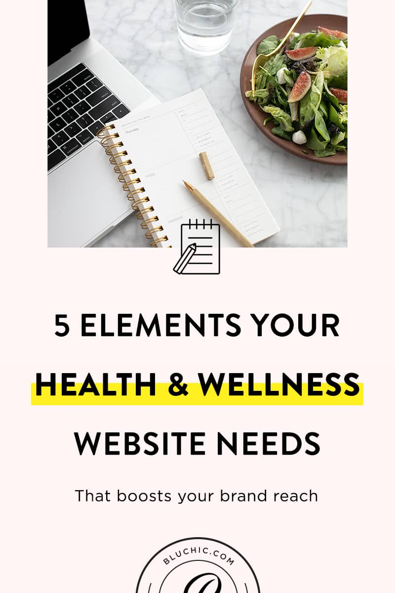 5 Elements Your Health & Wellness Website Needs | What's the secret to a health and wellness site that boosts your brand reach along with traffic and sales? Discover key elements to a great website here.