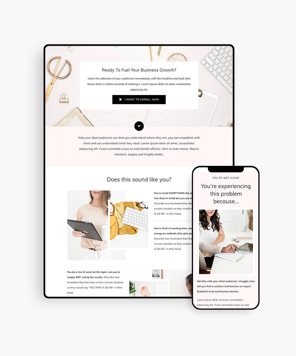 chicshop-sales-funnel-wordpress-template