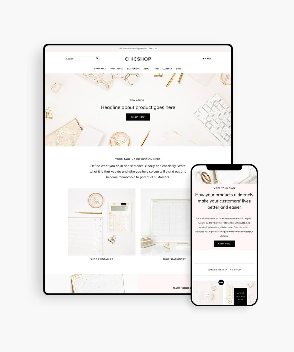 ChicShop WooCommerce WordPress Theme for Online Shop