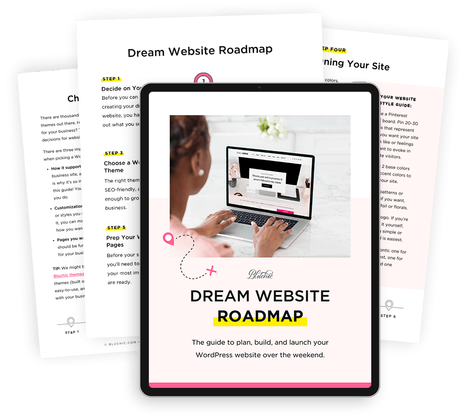 Download free dream website roadmap