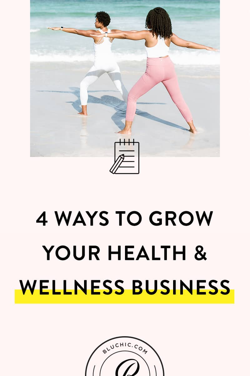 Tips to Grow Your Health and Wellness Business | You've launched your health and wellness business, but now...you're stuck in a rut. Check out these 4 tips for growing and scaling with less stress.