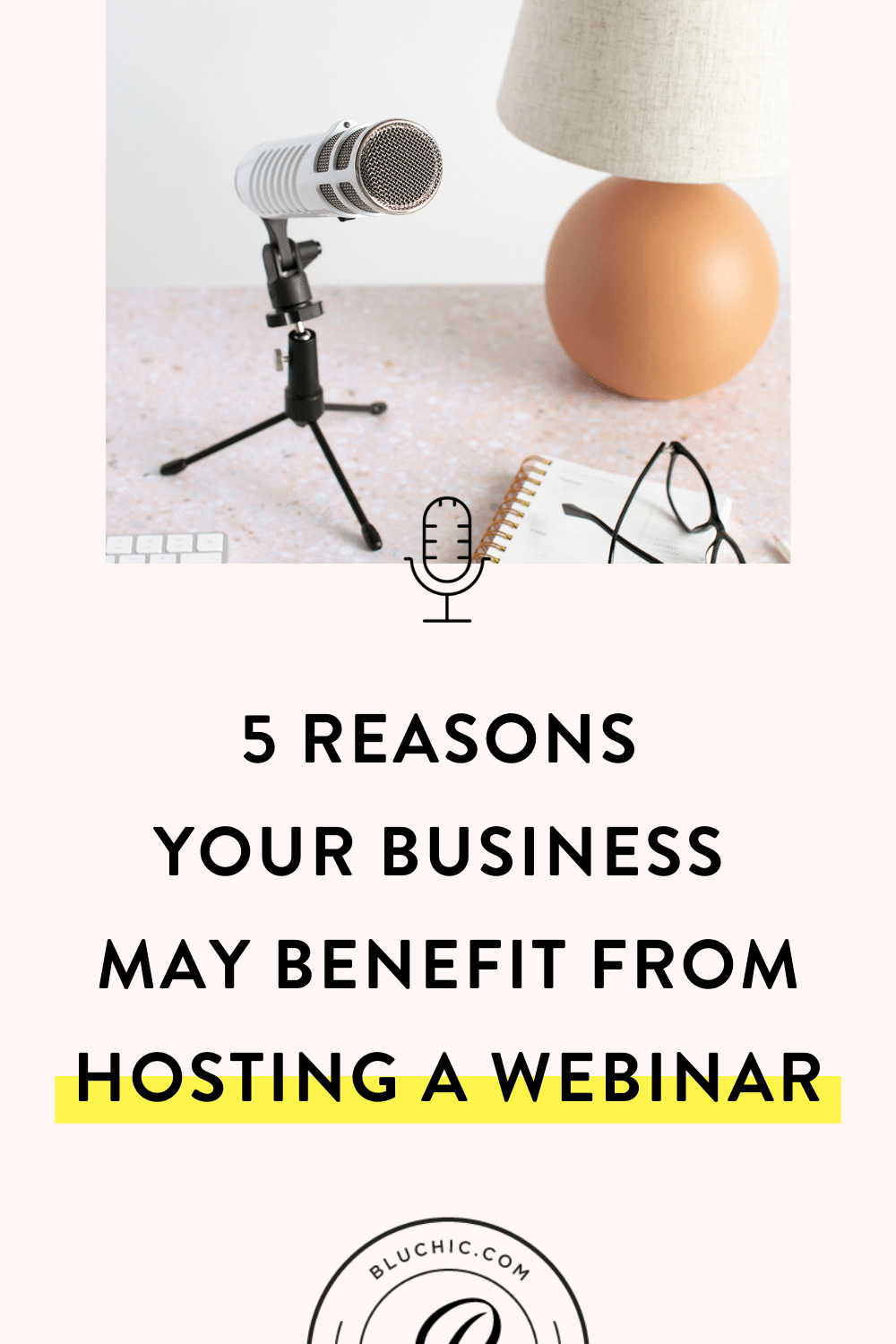 5 Reasons Your Business May Benefit From Hosting a Webinar | Have you thought about hosting a webinar, but haven't done it yet? They can help you drive quality leads, increase brand awareness & authority, and more. Learn more about the 5 benefits to hosting a webinar for your biz!