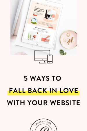 5 Ways to Fall Back in Love with Your Website | Is your website just not doing it for you anymore? Here are 5 things you should do to fall back in love with it again.