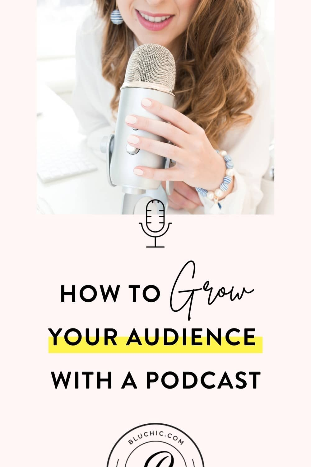 How to Grow Your Audience With a Podcast | Thinking about starting a podcast? That's great! But let's make sure it's worth your time and effort. Here are 5 ways to grow your audience with a podcast!