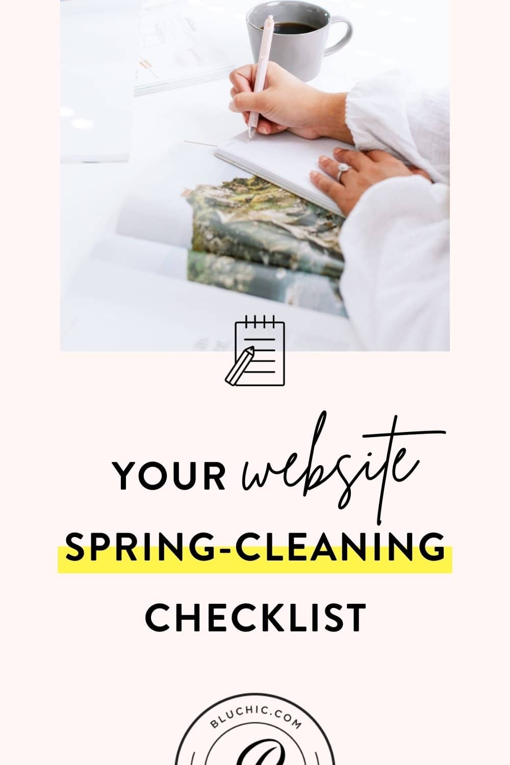 Your Website and Business Spring-Cleaning Checklist | Spring has sprung, which means it's time to do some spring cleaning on your website! We've crafted the ultimate checklist to help you do just that.