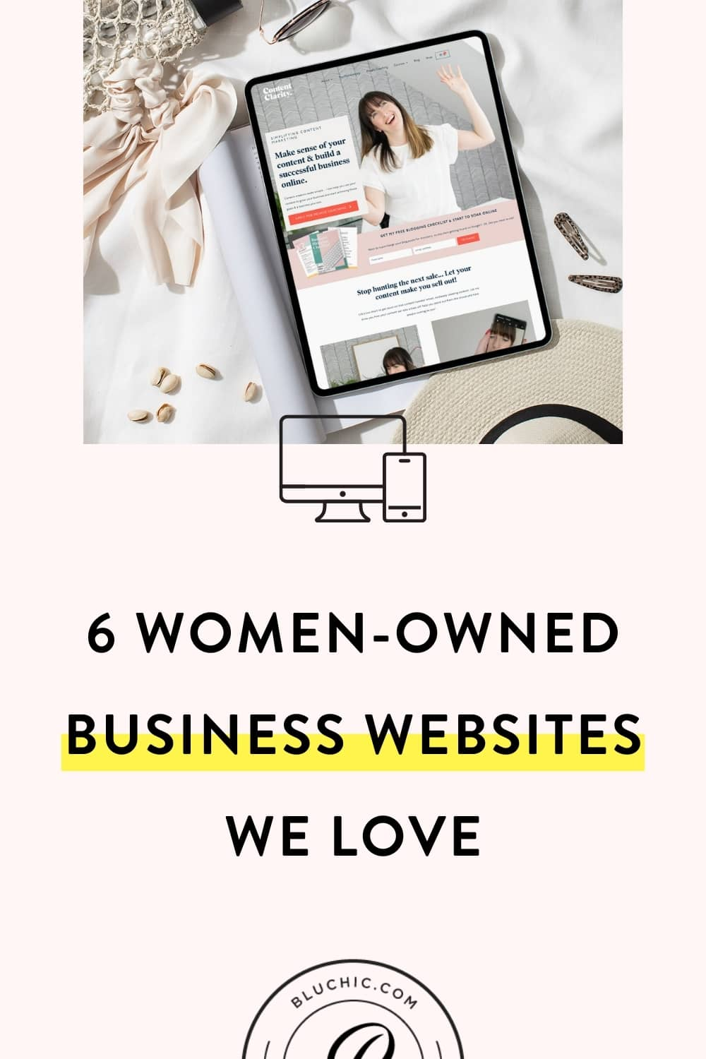 6 Women-Owned Business Websites We Love | To celebrate International Women's Day and Women's History Month, we're sharing women-owned business websites we love (and how you can launch yours, too)!