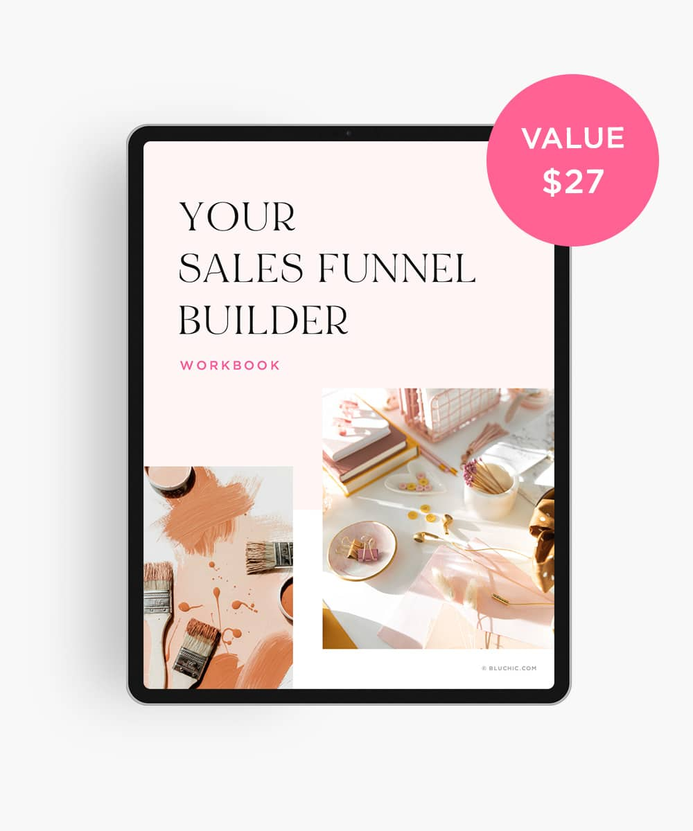 bonus sales funnel builder workbook