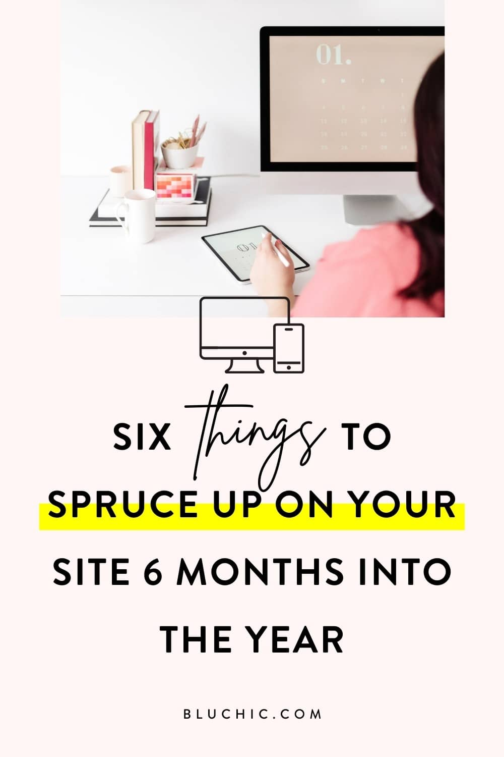 Here are six things to spruce up on your website now, so you can continue to grow your biz and reach your goals by the end of the year.